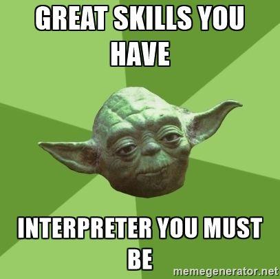 Yoda tolmácsa